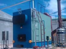 Lò hơi đốt than công suất 3tấn trên h