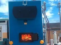 Lo hoi đốt biomass